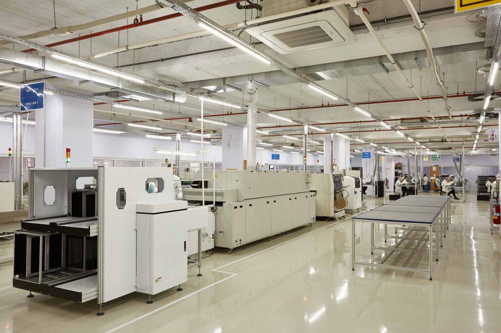 EMS üretim tesisi